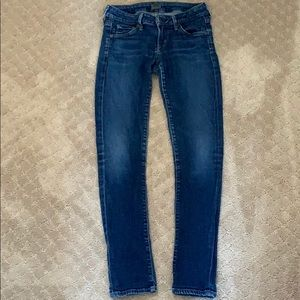Citizens of Humanity Low-Rise Jeans (Size 26)